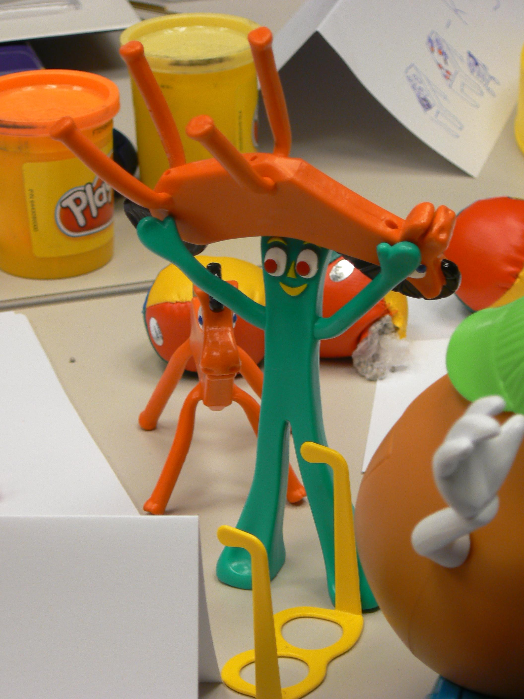 gumby-shows-his-strength