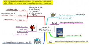 Jamie's Contact Info For VizThink U Webinar