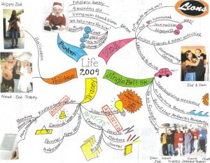 Tracey Lyon - Idea Map Christmas Greeting Page 1