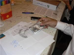 Issa Drawing Kevin Costner