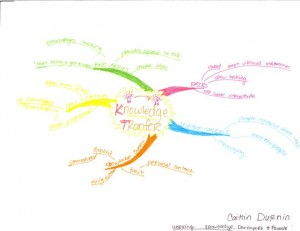 Caitlin Durnin's Idea Map - Working Knowledge