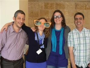 Lili Celebrates her birthday during the Jordan Idea Mapping Workshop