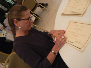 Signing Idea Mapping Certificates - PMPs Earn 15 PDU's