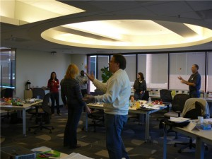 Juggling Baseline at Mindjet Idea Mapping Workshop