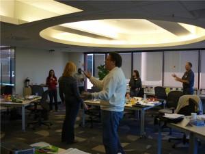 Juggling Baseline at Mindjet Idea Mapping Workshop
