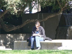 Laurel Martinez at Mindjet Idea Mapping Workshop