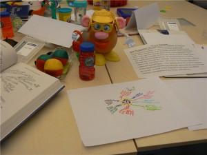 Mrs Potato Head joins the Idea Mapping Workshop or Mind Mapping Workshop at Mindjet