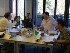Participants in the Idea Mapping or Mind Mapping Workshop - 1