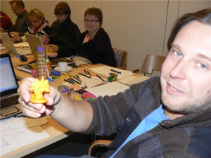 Playdoh Creations from Idea Mapping Workshop in Poland 2