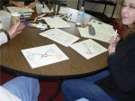 SLI Participants Practice Their Idea Mapping 3