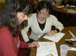 SLI Participants Practice Their Idea Mapping 4