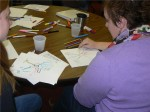 SLI Participants Practice Their Idea Mapping 5