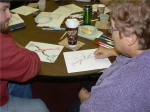 SLI Participants Practice Their Idea Mapping 7