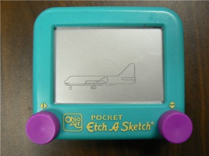 Boeing Aircraft Etch a Sketch