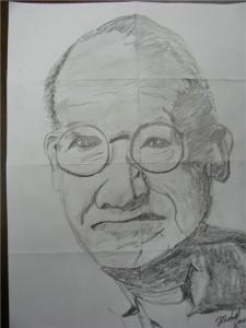 Michael's Portrait Drawing