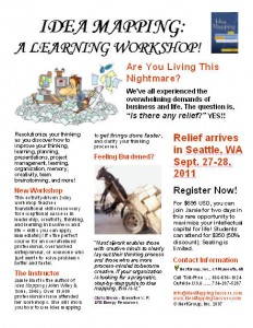 Idea Mapping Workshop Flier - Seattle 2011