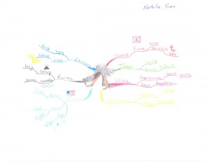 Natalie Sims - Idea Map or Mind Map on Ballroom Dancing