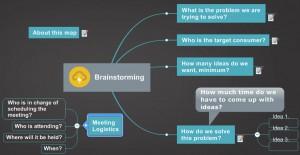 Mindjet Jetpack - Brainstorming