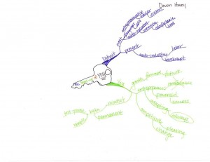 Idea Map or Mind Map - Luther College Hovey, Devon 3